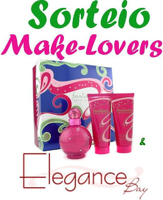 Sorteio Make-Lovers + Elegance Bay