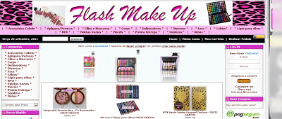 Novidades na Flash Make Up
