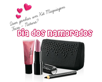 Sorteio Make-Lovers & Portal Rosa Chicle no Facebook