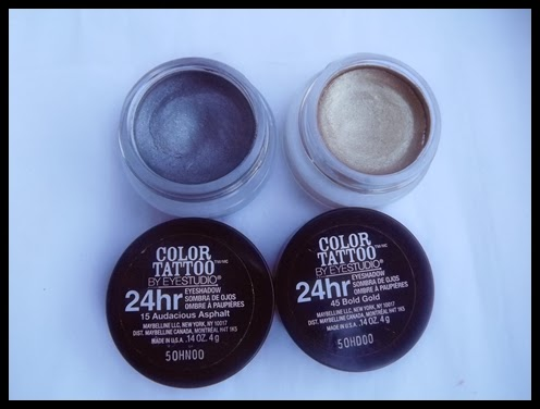 Resenha: Maybelline Color Tattoo 24hr Cream Gel Eyeshadow