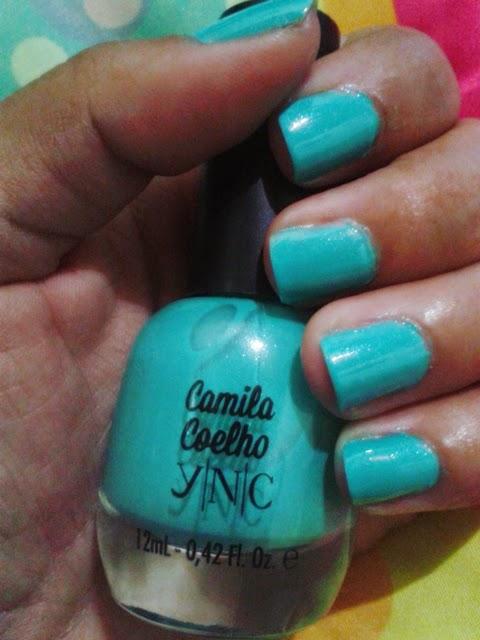 Esmalte da Semana: Blue Jade coleção Camila Coelho by Yenzah Nail Color