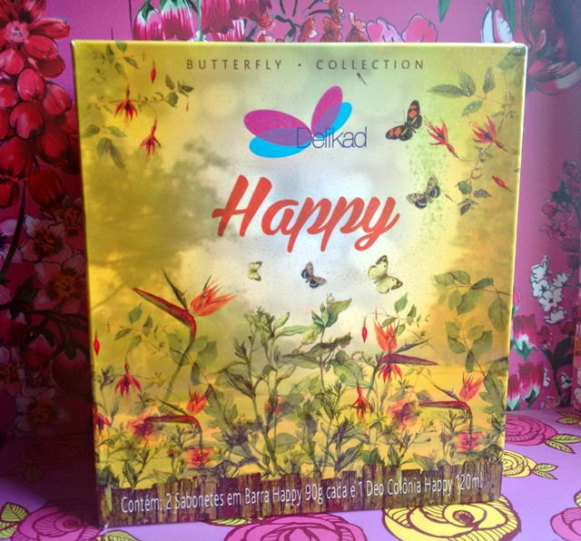 Delikad Butterfly Collection Deo Colônia Happy | Resenha