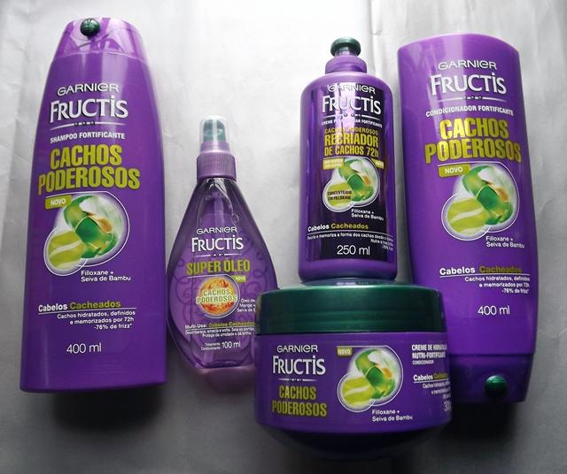 Garnier Fructis Cachos Poderosos | Resenha *Update* Formas de Usar