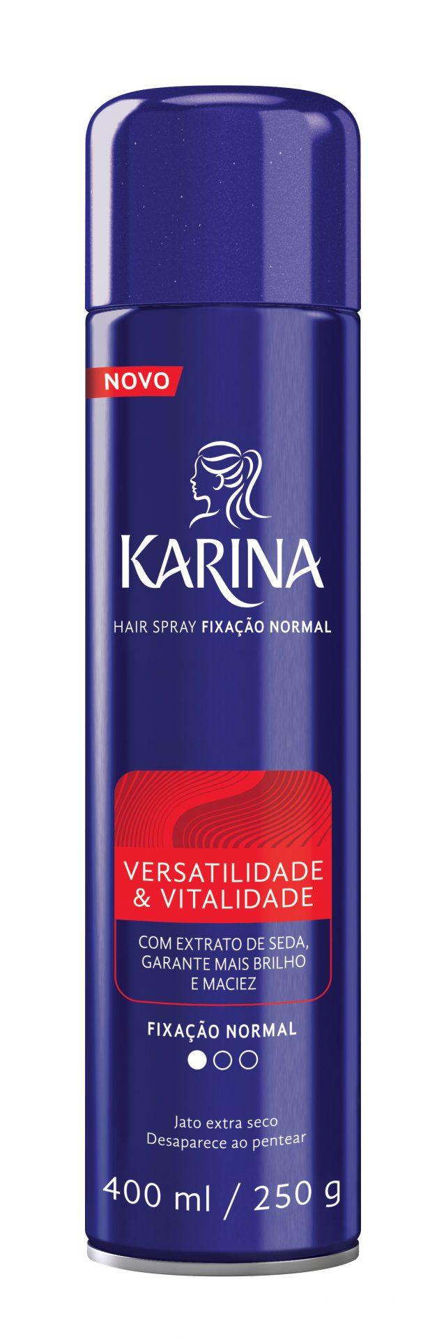 Hair Spray Karina Versatilidade & Vitalidade