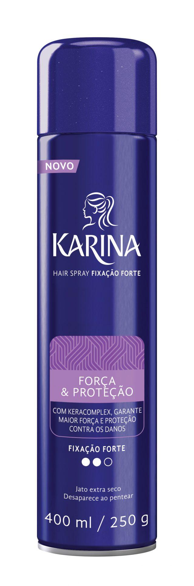 Hair Spray Karina Força & Proteção