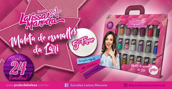 Esmaltes da Larissa Manoela | Lançamento