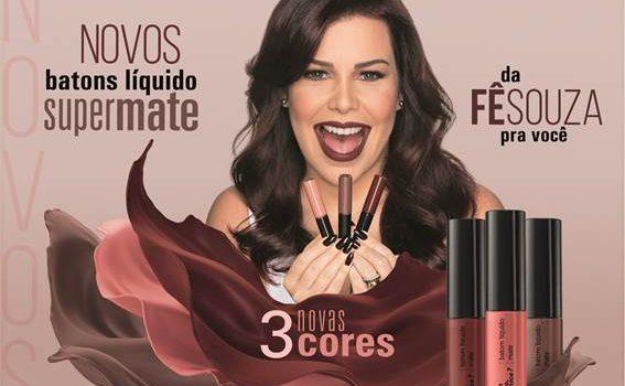 quem disse, berenice? e Fernanda Souza se Unem para Lançar Coleção Exclusiva de Batons Líquidos Supermate