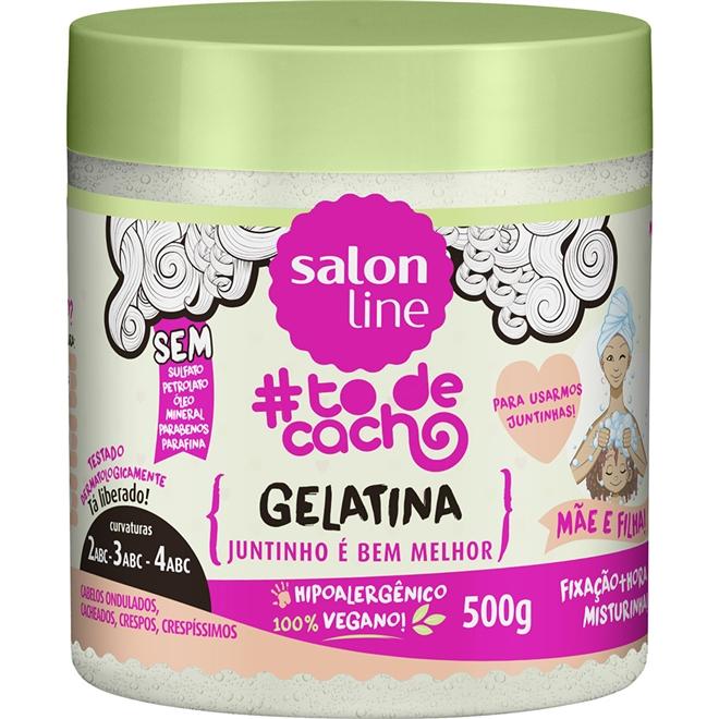 Gelatina#todecacho Mãe e Filha! {JUNTINHO É BEM MELHOR!} –500g Valor R$ 15,90
