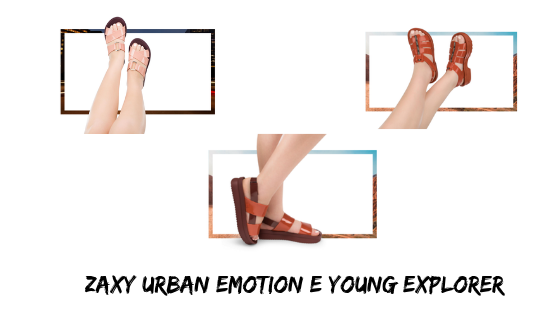 Zaxy Urban Emotion e Zaxy Young Explorer
