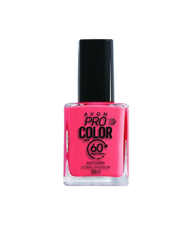 Avon Pro Color Esmalte 60s Coral